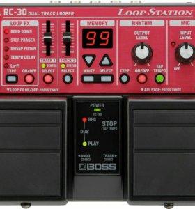 Boss RC-30 Loop Station гитарный процессор