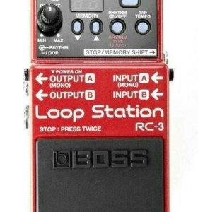 Гитарная педаль Boss RC-3 Power Bundle