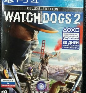 Watch dogs 2: Deluxe Edition PS4 (RUS)