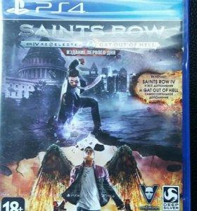 Новый в пленке. Saints Row IV PS4 (RUS)