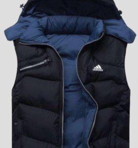 Мужская куртка-жилетка