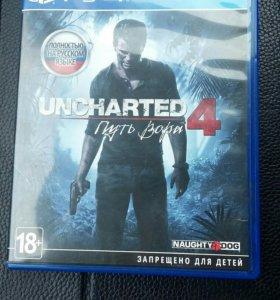 Uncharted 4: Путь вора PS4 (RUS)