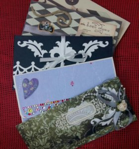 Конверт для денег Подарочный конверт скрапконверт