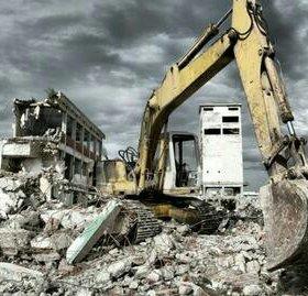 Снос старых зданий!!