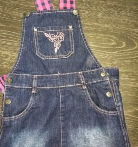 Юбка джинсовая для девочки размер 134