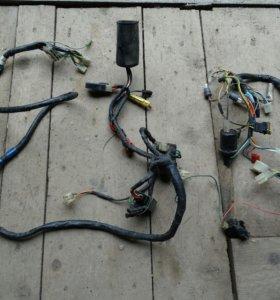 Проводка для Honda dio