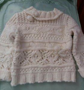 свитер детский тёплый зима