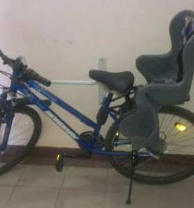 Велосипед Nordway с детским креслом
