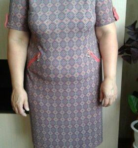 Платье вискоза 48-50р