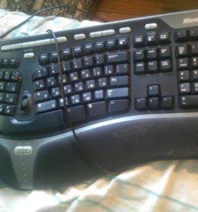 Клавиатура майкрософт....практ новая