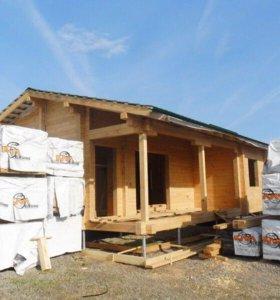 Строим дома, бани из бруса, срубы