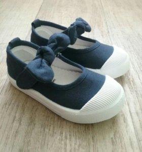 Кеды-туфельки новые