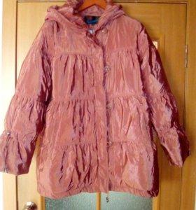 Легкая зимняя куртка,  52-54