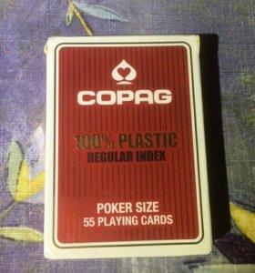 """Карты для pokera copag""""Regular Index"""""""
