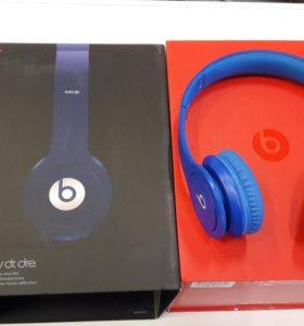 Новые наушники Beats Solo HD (2012) blue