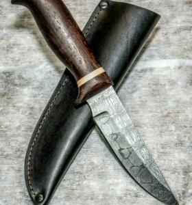 Охотничьи ножи из дамасской стали от производителя