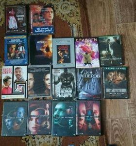 Диски, игры, фильмы.