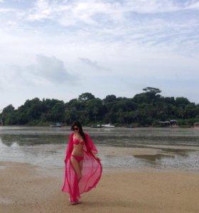 Пляжный халат