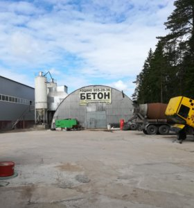 Бетонный завод пгт Рощино