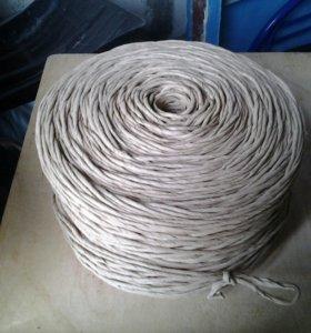Упоковочная верёвка ( шпагат бумажный )