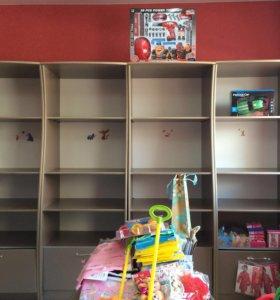 Торговое оборудование из детского магазина