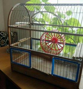 Клетка для грызунов/попугаев