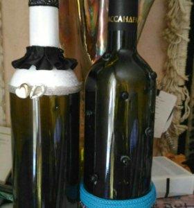 Декор, бутылочки