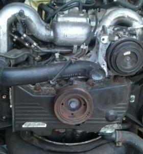 Двигатель субару 204 мех дроссель