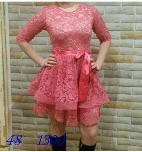 В наличии новое платье. Размер 48