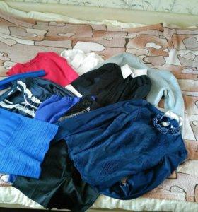 Вещи пакетом(+сумки и обувь)
