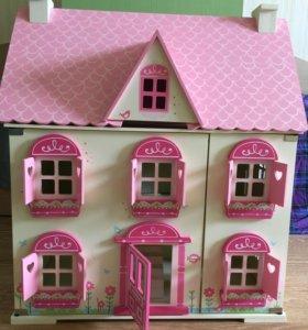 Кукольный домик ELC деревянный