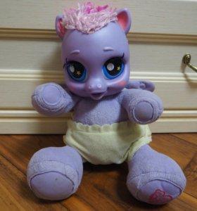 Единорог,живая детская игрушка,поёт играет с детьм