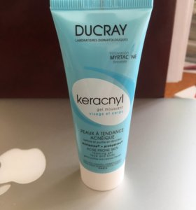 DUCRAY KERACNYI гель очищающий 40 ml
