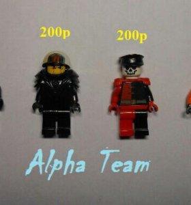 Лего фигурки Alpha team