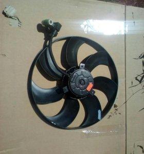 Вентелятор охлаждения киа рио 3