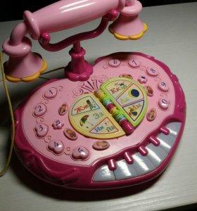 Развивающий поющий телефон