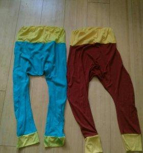 Трикотажные штаны с мотней