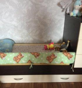 Детская кроватка-трансформет