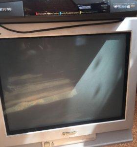 Телевизор плюс видеомагнитофон