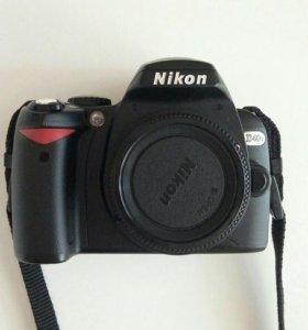 Фотоаппарат Nikon D40X Body в отличном состоянии