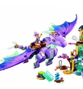 Эльфы логово дракона конструктор bela копия лего
