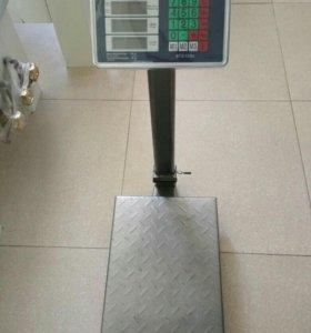 Весы торговые со стойкой:150кг,300кг(новые)