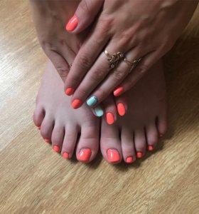 Покрытие ноготков гель-лаком