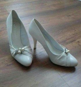 Туфли свадебные 37 р-р