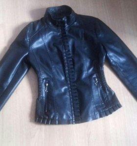 Кожанная куртка (из натуральной кожи)