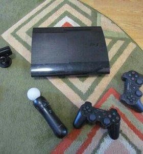 PlayStation3-500gb/ 5игр/ Move