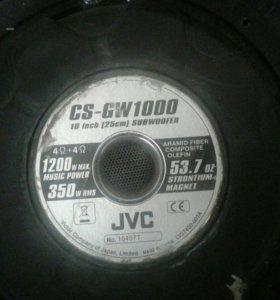 Сабвуфер JVC CS-GW1000