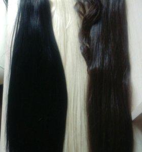 Хвосты накладные термо и Волосы на заколках