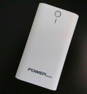 Внешний аккумулятор Power Bank (белый)