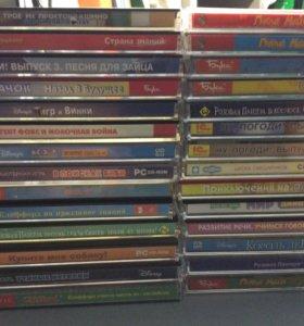CD диски для компьютера.